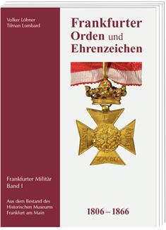Cover Bildband Frankfurter Orden und Ehrenzeichen